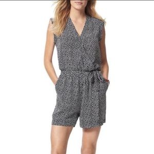 Tommy Hilfiger Navy dot star sleeveless romper 8